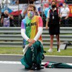 Regenbogen-Shirt in Ungarn: Hamilton lobt Vettel